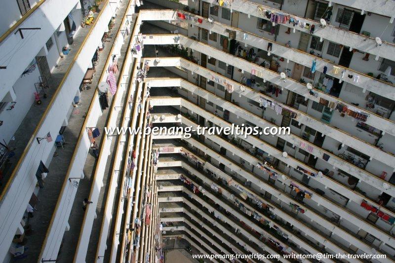 Interior of PPR Jalan Sungai