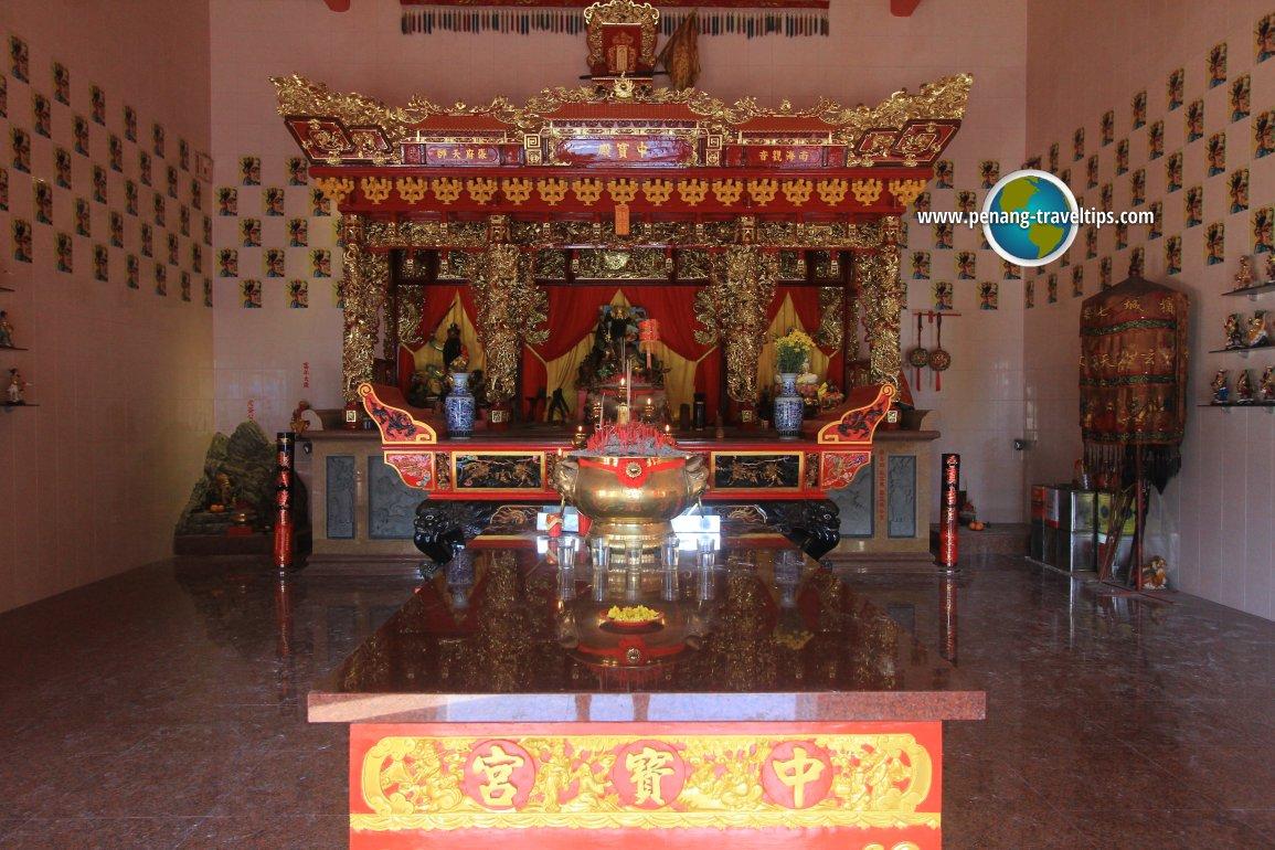 Prayer Hall, Teong Poh Keong Temple