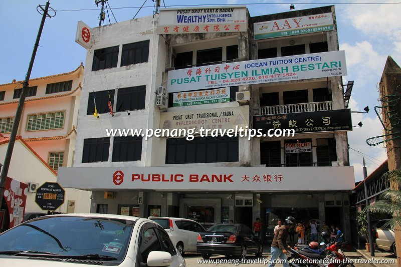 Public Bank branches in Penang