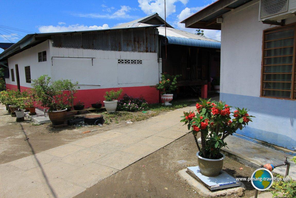 Pulau Aman village