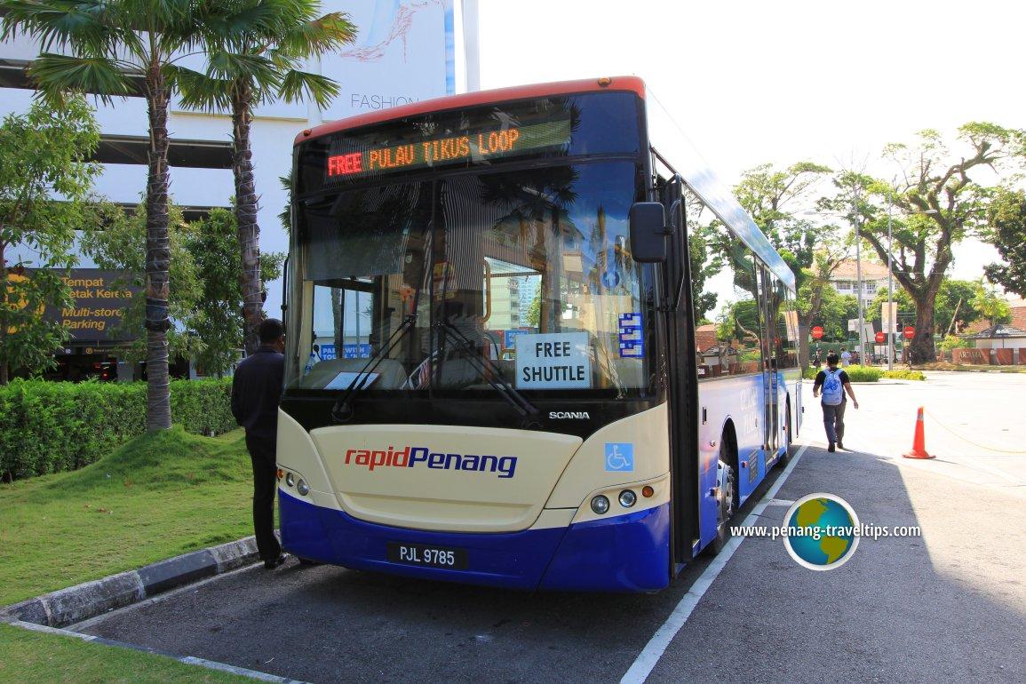 Pulau Tikus Free Shuttle Bus