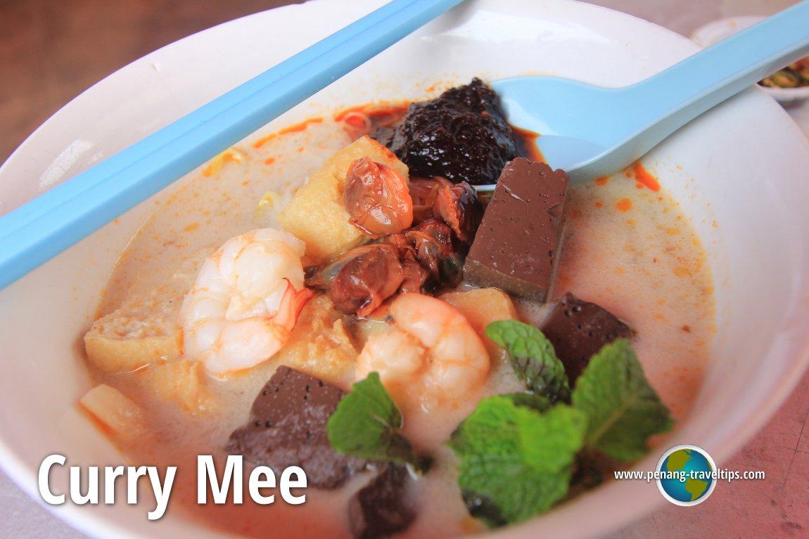 Pulau Tikus Market Curry Mee