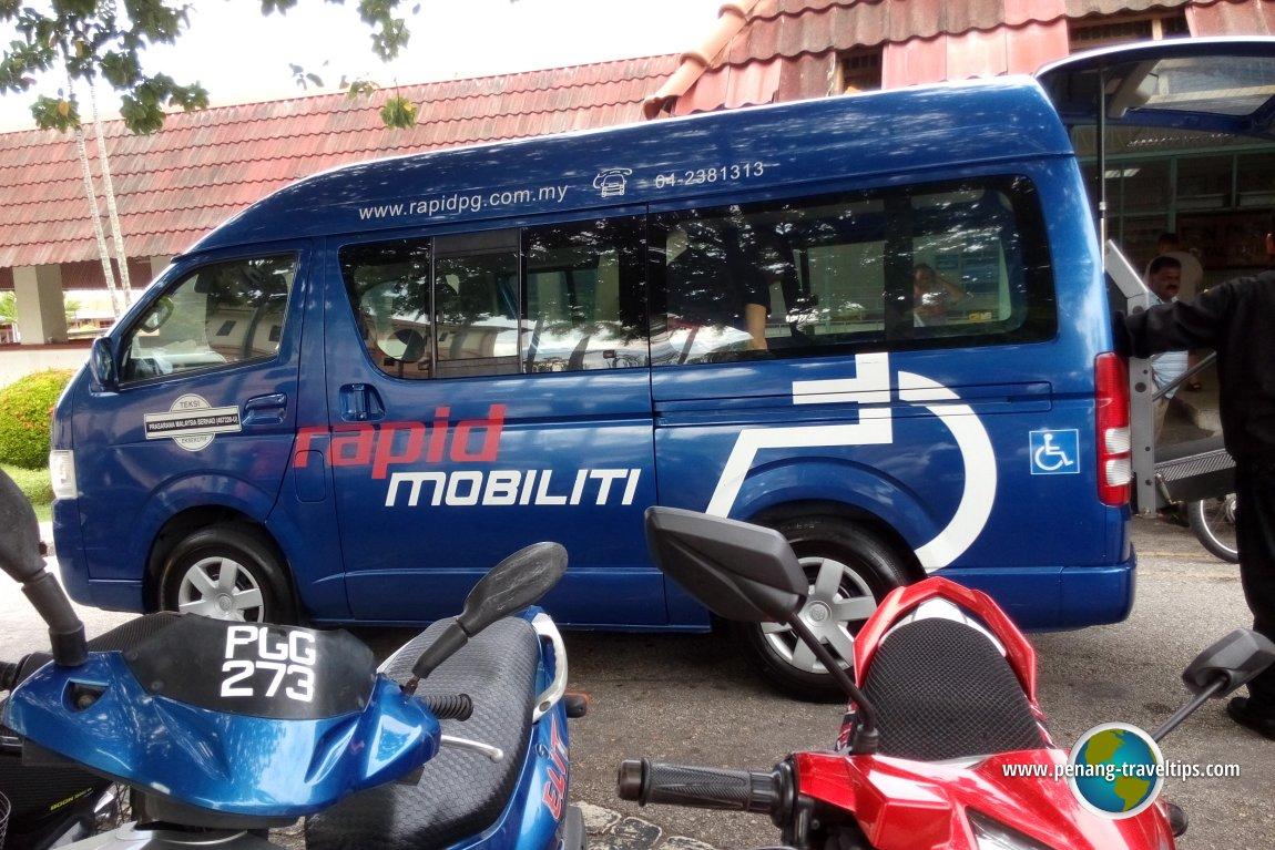 Rapid Mobiliti van
