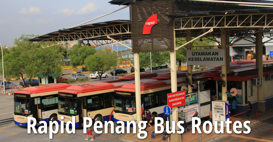 Rapid Penang Bus Routes