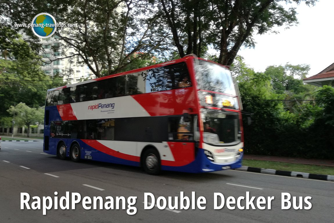 Rapid Penang Double Decker Bus