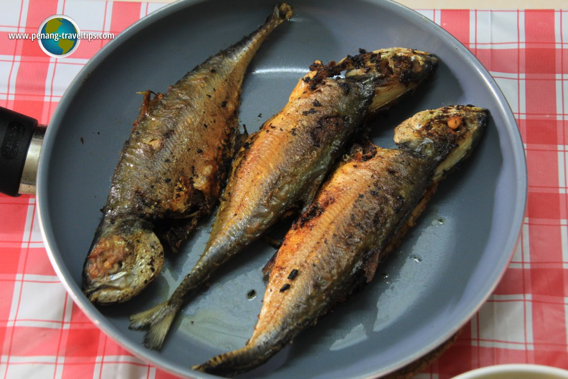 Rempah Fish for lunch