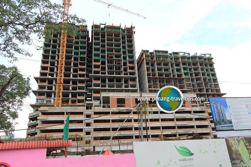 Sandilands Condominium under construction