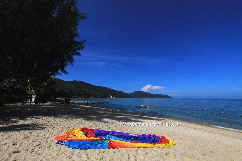 The sea at Batu Ferringhi