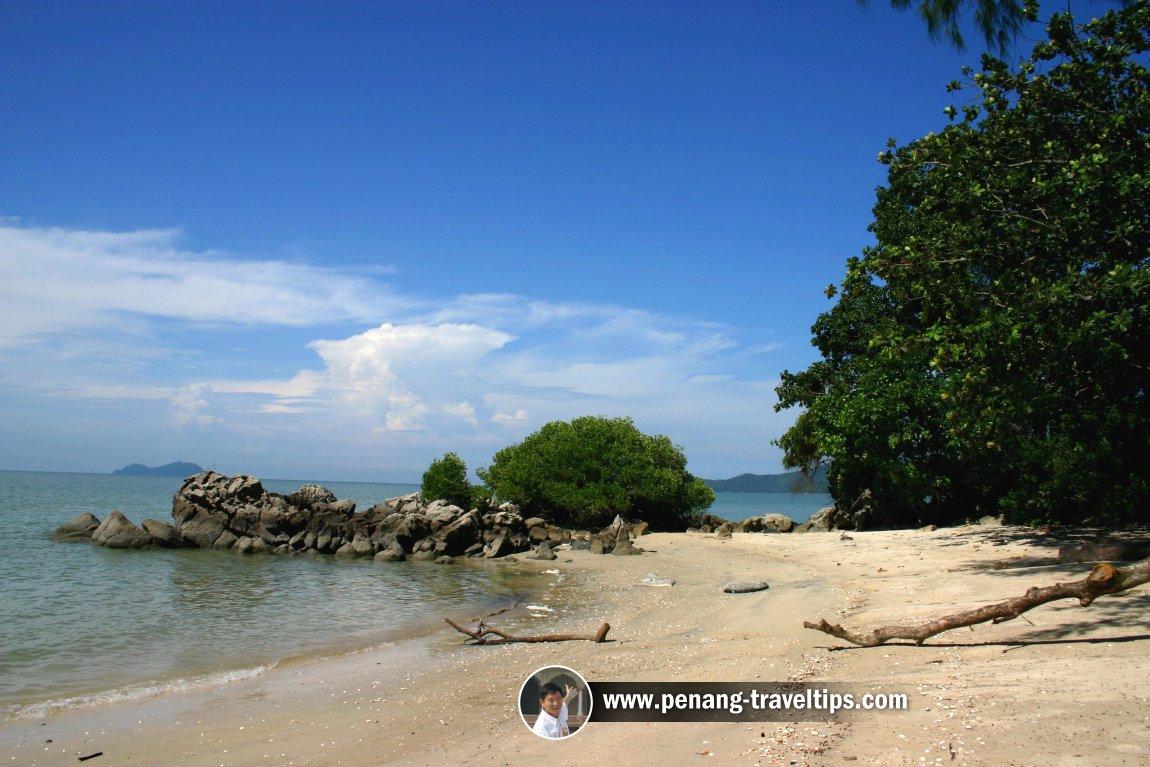The seaside at Teluk Bayu