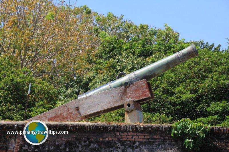 Seri Rambai, Fort Cornwallis
