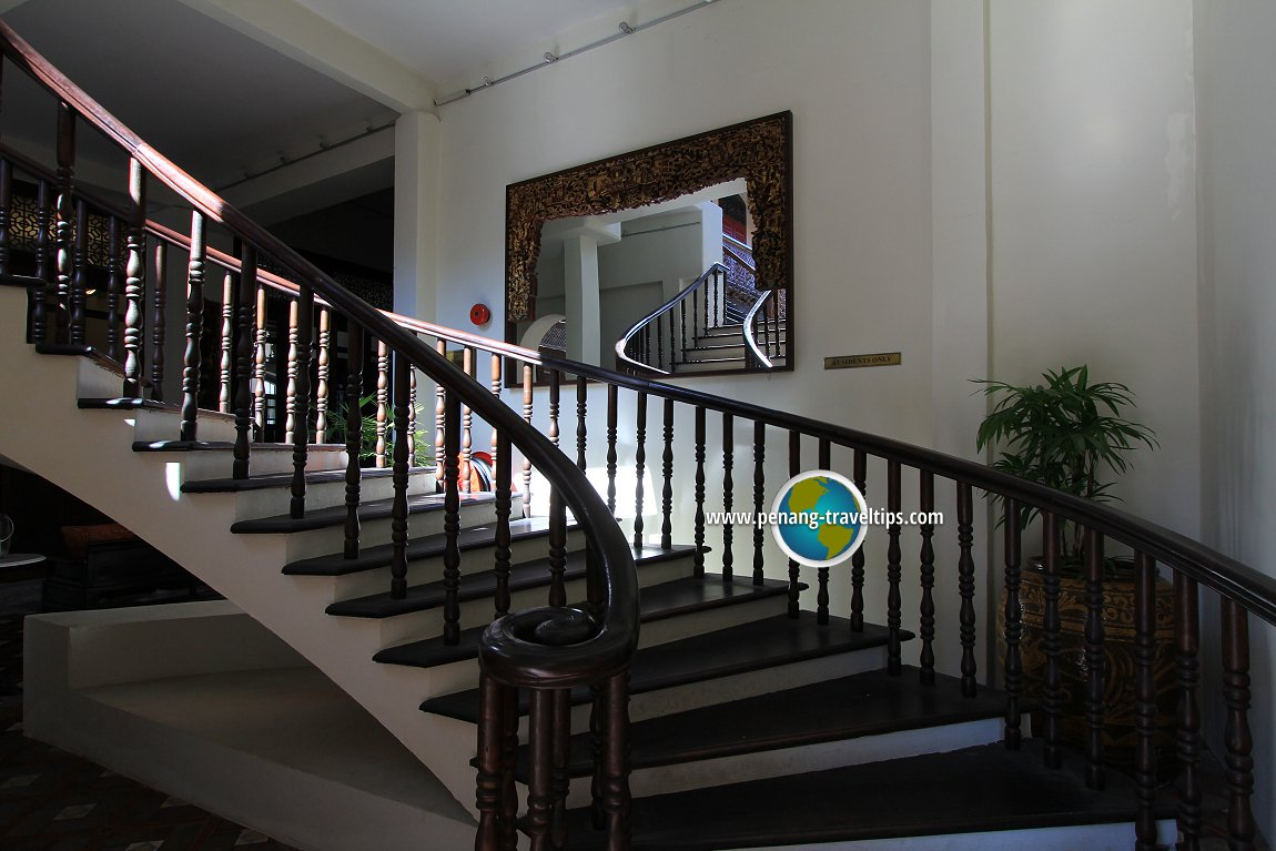 Grand staircase, Seven Terraces