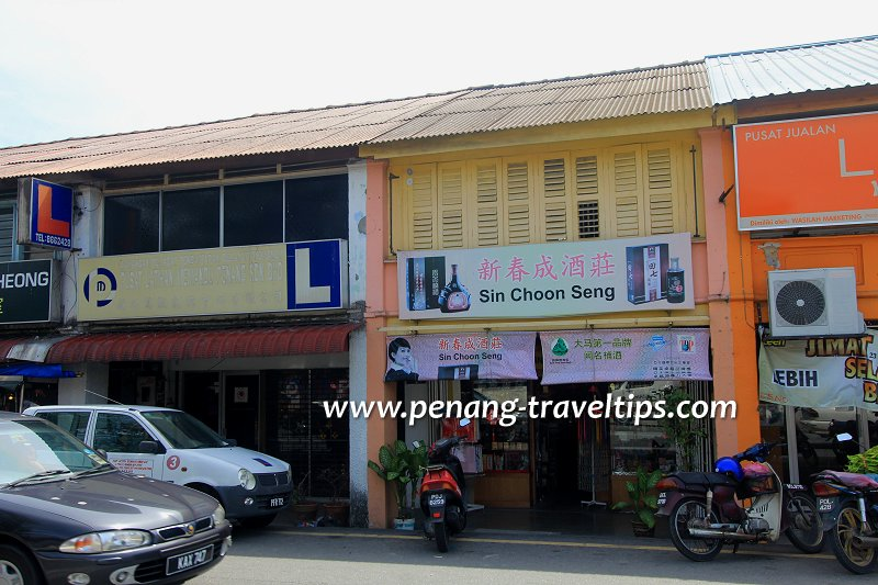 Sin Choon Seng, Balik Pulau