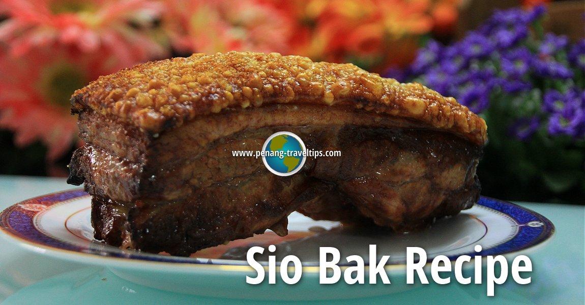 Sio Bak Recipe