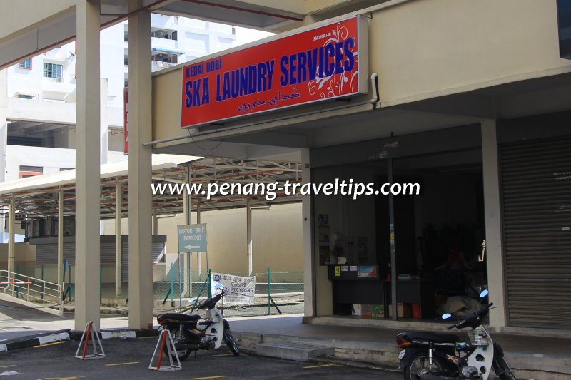 SKA Laundry Services, Macallum Street Ghaut