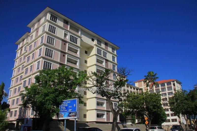 SMK Agama (P) Al-Mashoor, new building
