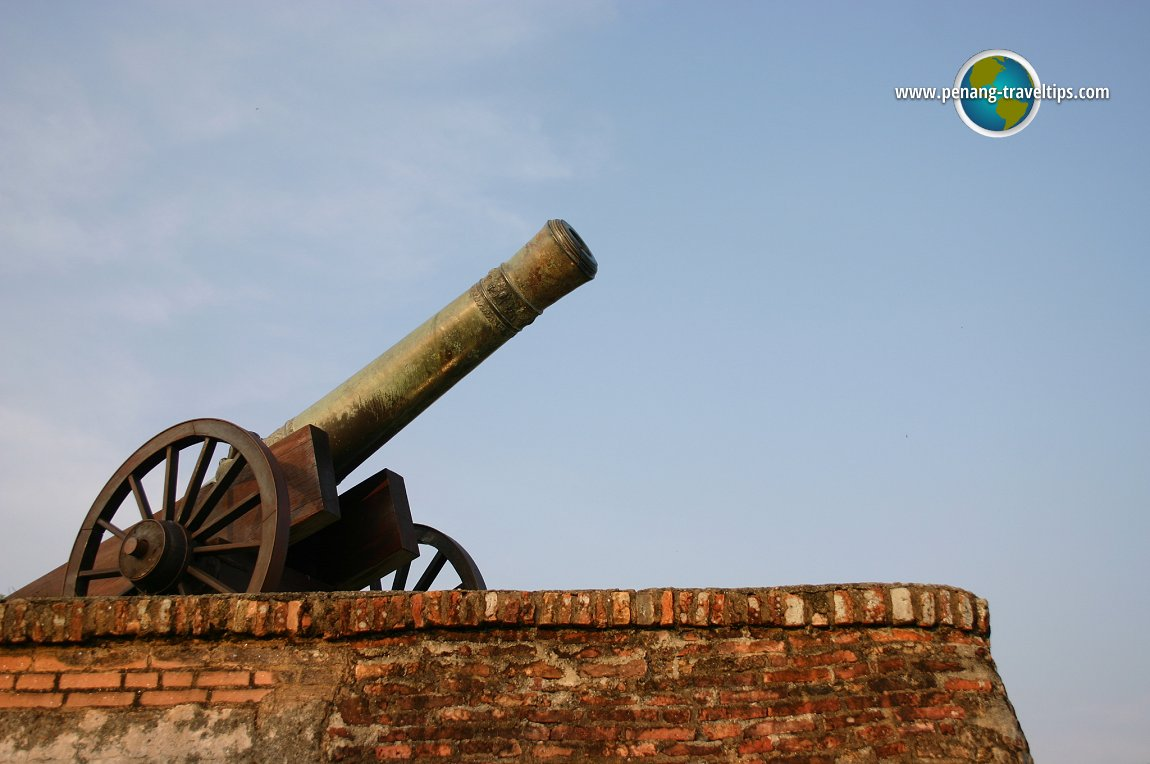 The Sri Rambai Cannon at Fort Cornwallis