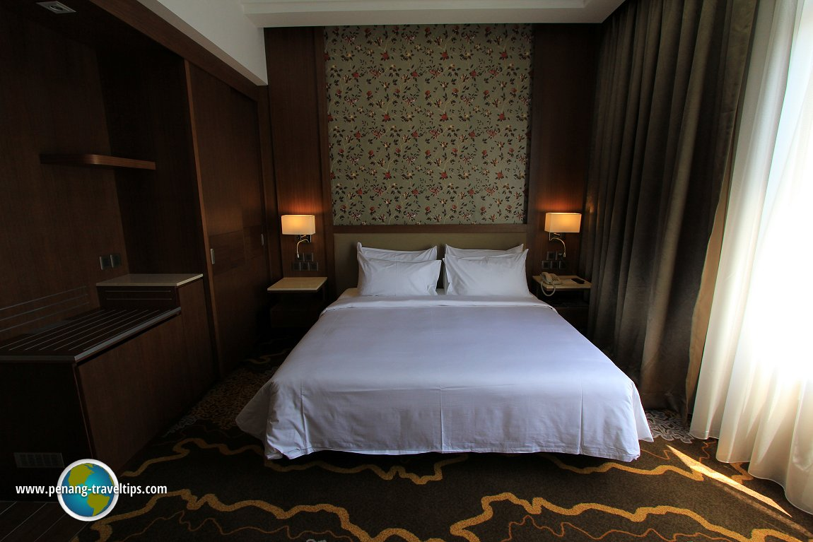 The Deluxe Room of The Wembley Penang