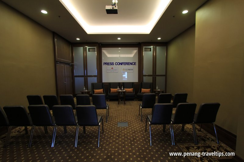 The Wembley Penang's Press Conference Room
