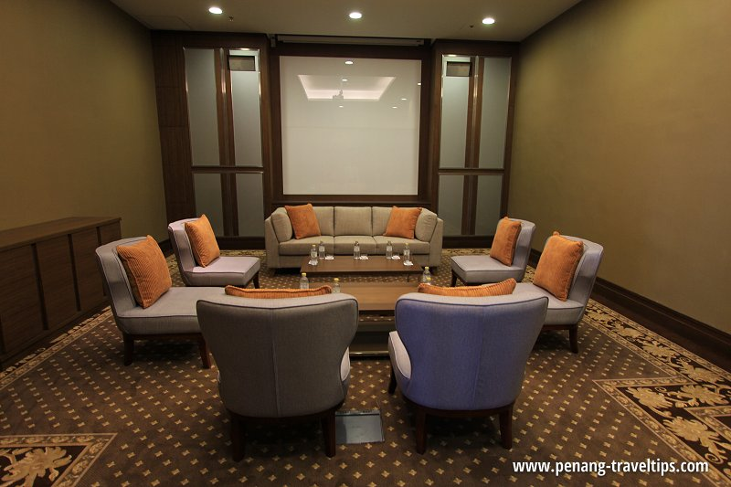 The Wembley Penang's VIP Waiting Room