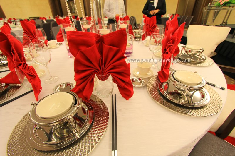 Wedding banquet table, The Wembley Penang