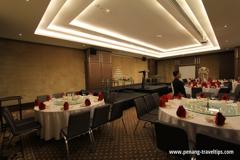 Wedding banquet at The Wembley Penang