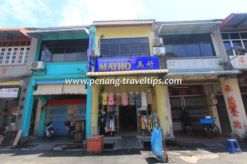 Sun Yee Lee Pork Shop, George Town, Penang