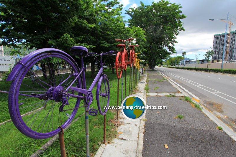 Sungai Ara Bicycles Sculpture