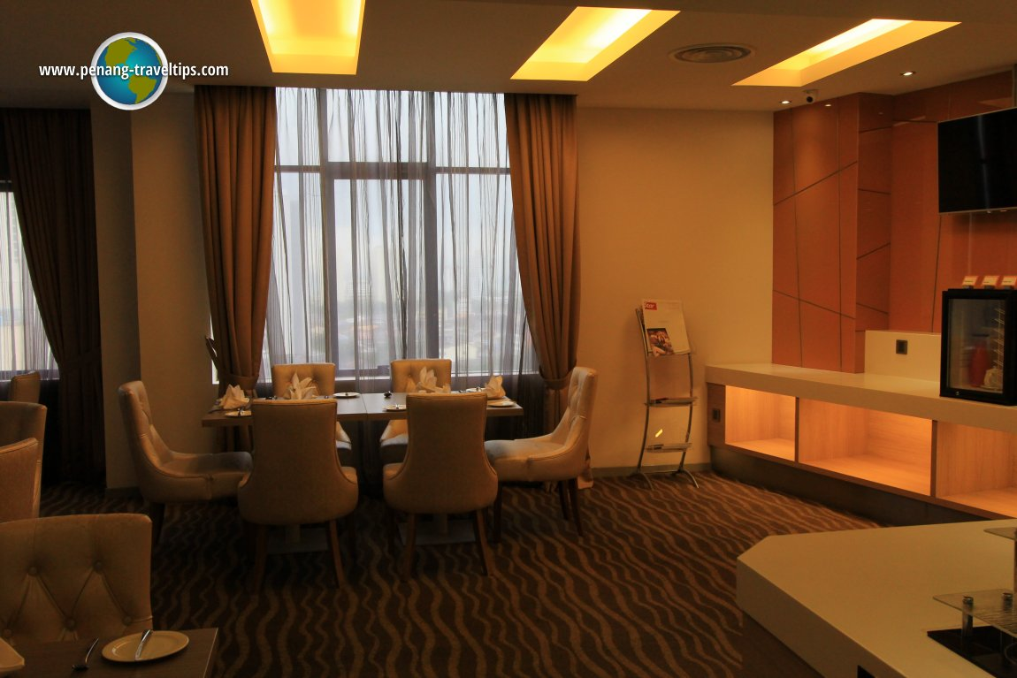 Sunway Hotel clubcard lounge