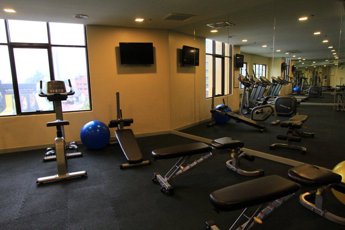 Sunway Hotel gym