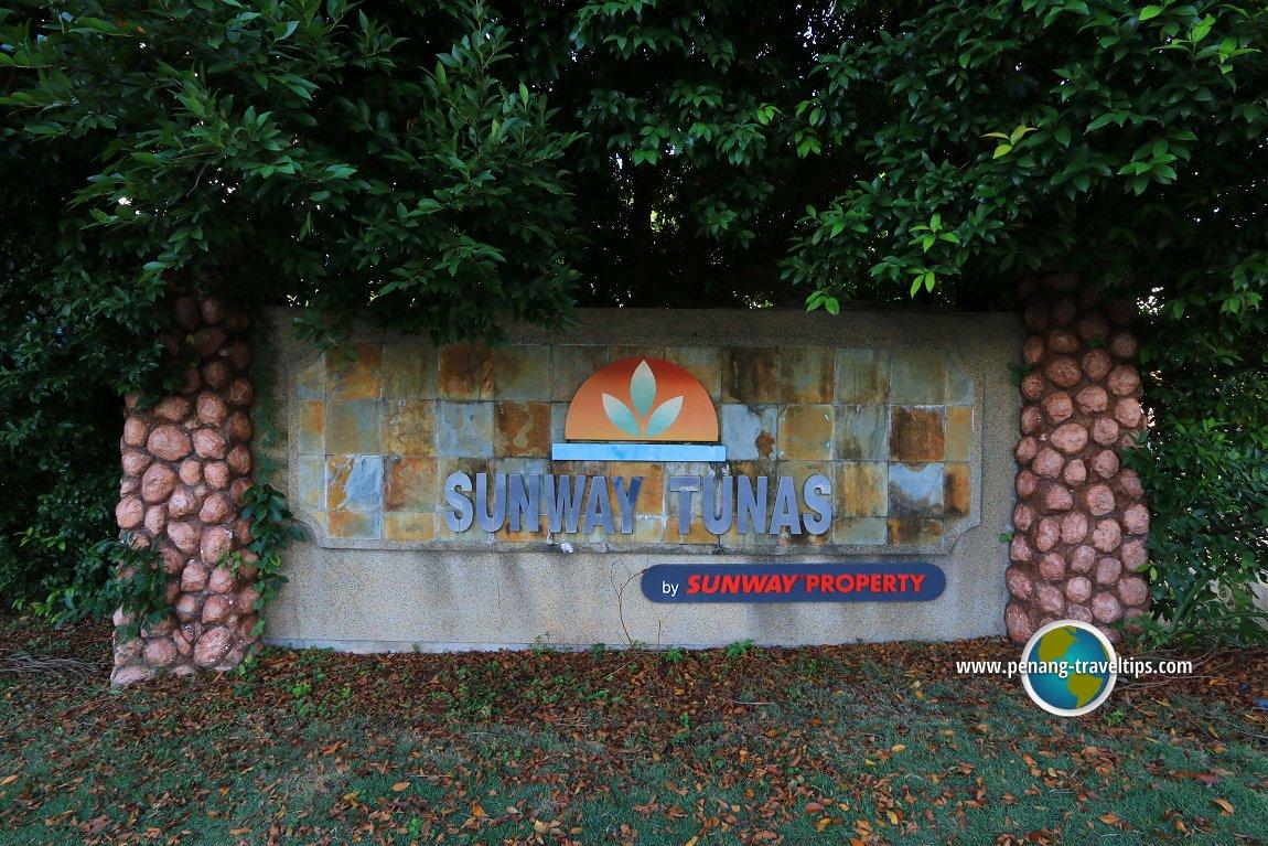 Sunway Tunas signage