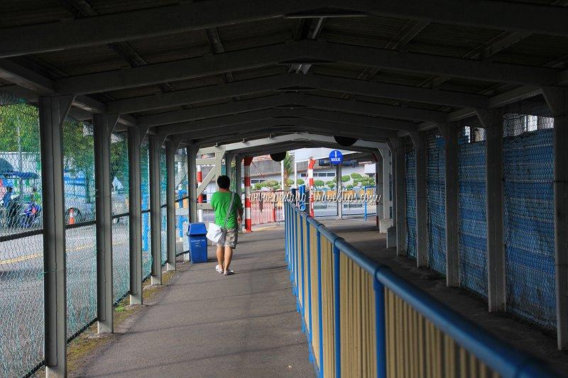 Corridor at Pengkalan Raja Tun Uda