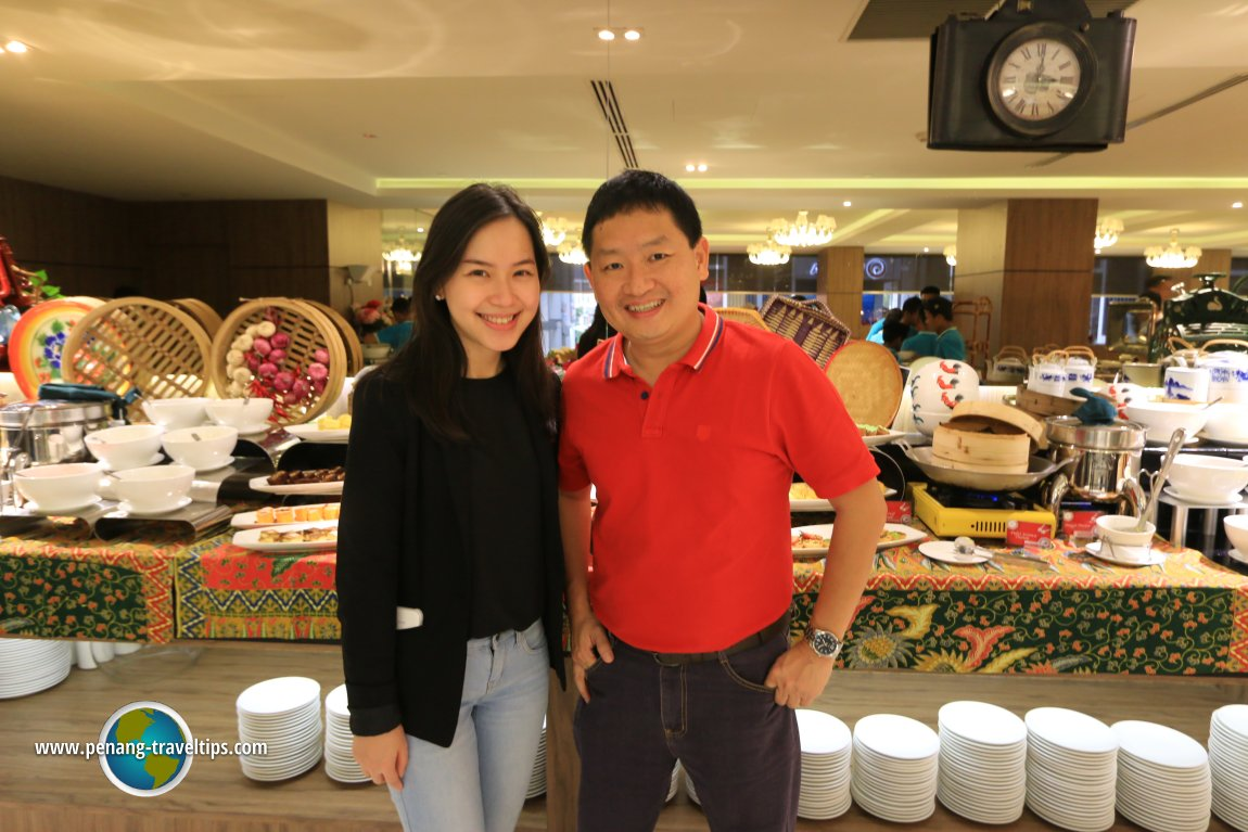 A Taste of Nyonya buffet dinner, Iconic Hotel Penang