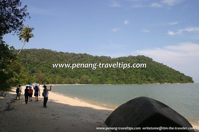 Teluk Ailing, on the way to Teluk Duyung