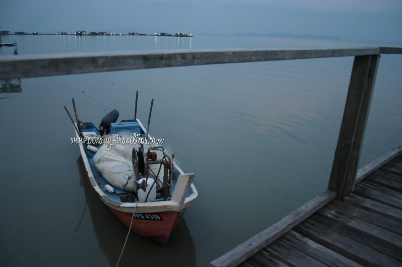 Teluk Tempoyak fishing boat
