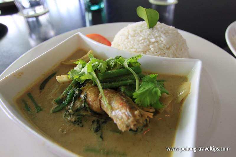 Thai Green Curry, GLOW Penang