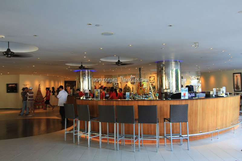 The bar at Hard Rock Hotel
