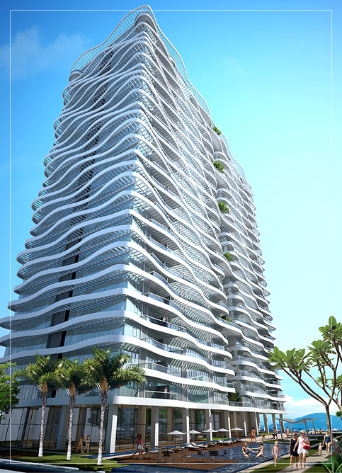 Artist impression of The Wave @ Penang Times Square