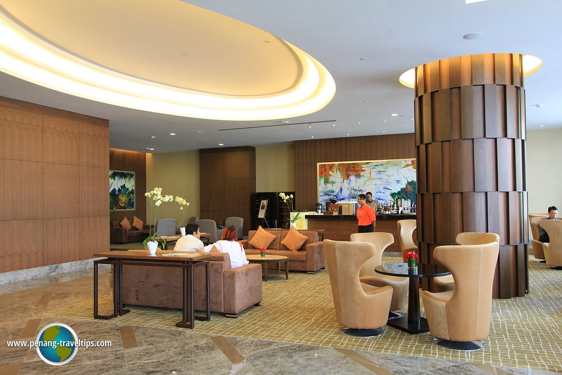 The lounge at The Wembley Penang