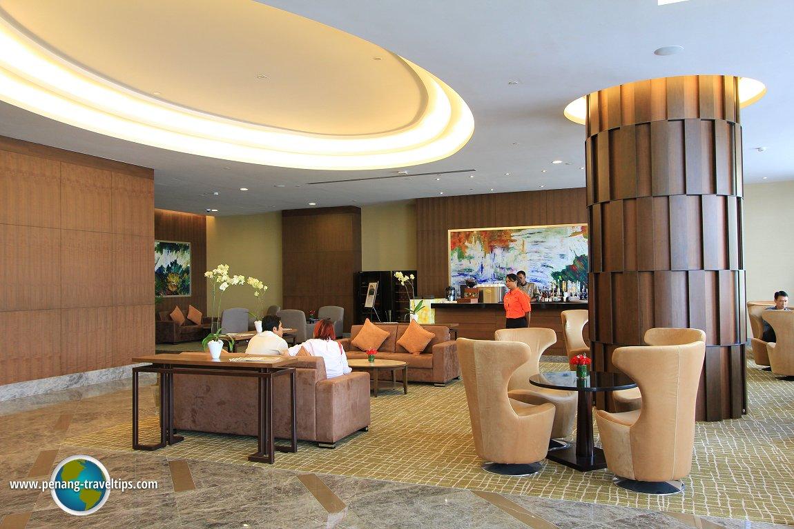 The lounge at The Wembley Penang