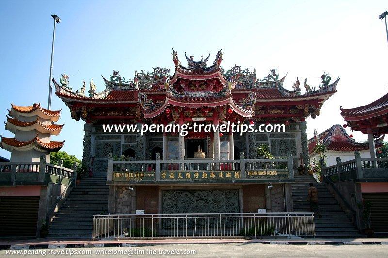 Thean Hock Keong, the biggest Chinese temple in Bagan Ajam