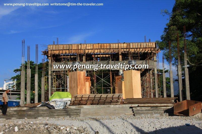 Thean Seng Keong Temple under construction