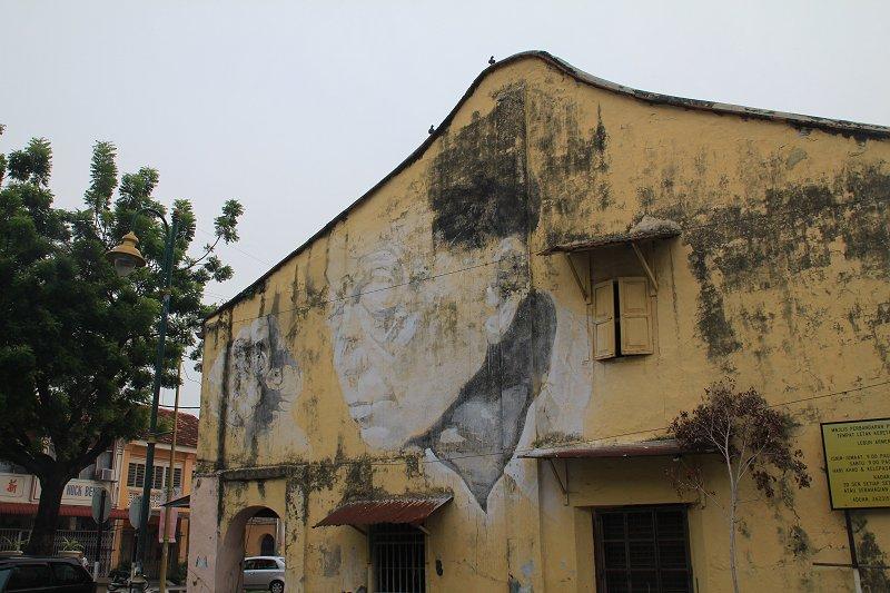 This Old Man Mural, Armenian Street, George Town, Penang