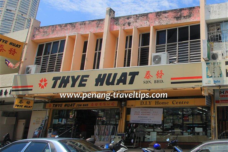 Thye Huat Sdn Bhd, Rope Walk