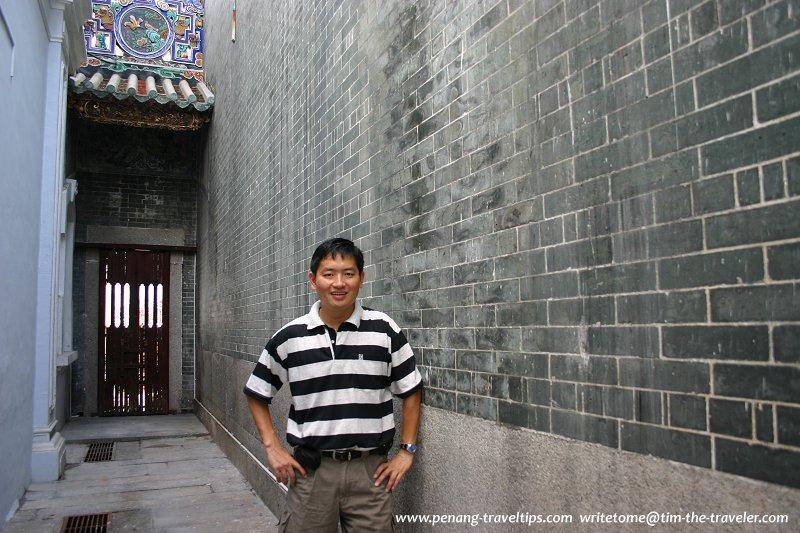 Tim at the Chung Keng Kwee Ancestral Temple