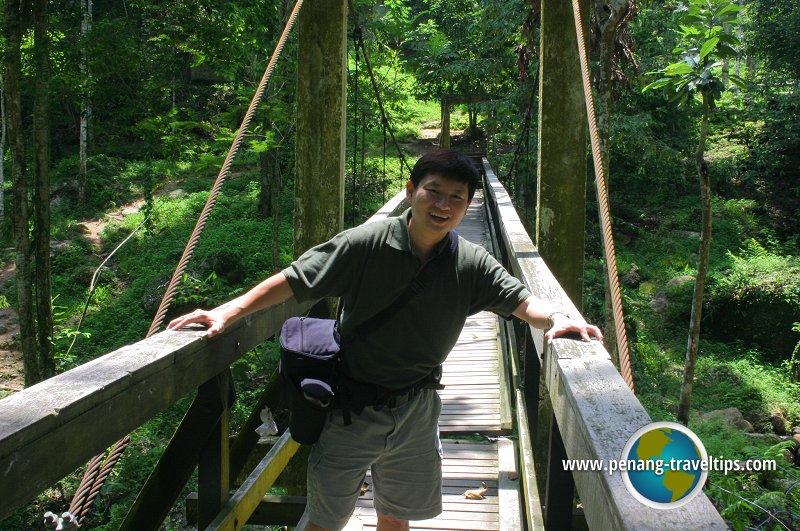 Timothy Tye at Bukit Mertajam Recreational Forest
