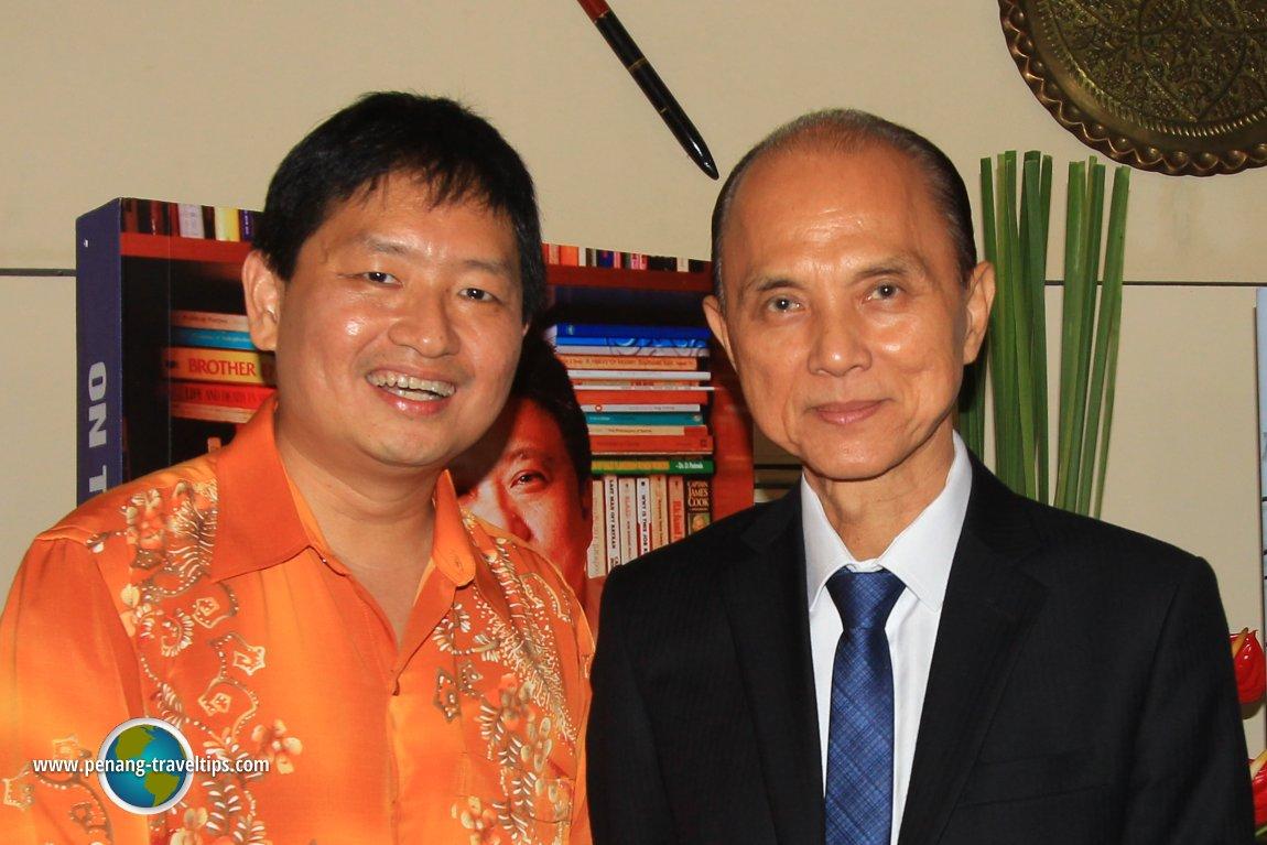 Timothy Tye with Jimmy Choo