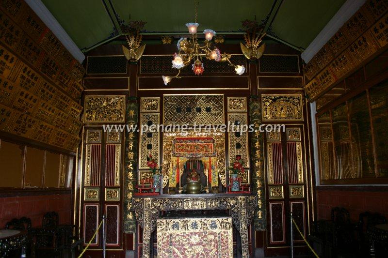 The Tua Pek Kong Hall at Khoo Kongsi