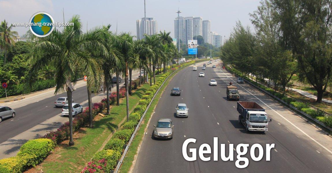 The Tun Dr Lim Chong Eu Expressway in Gelugor
