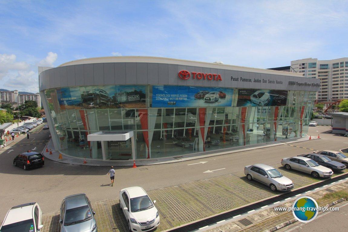 UMW Toyota Motor Sales & Service Centre, Jelutong, Penang