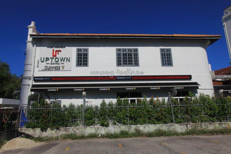 Side view, Uptown Bistro